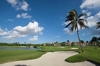 Photograph - Doral, Blue Monster Golf Course, Miami by Chris Cheadle