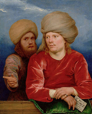 Painting - Double Portrait by Michiel Sweerts