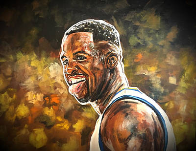 Painting - Draymond Green by Joel Tesch