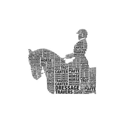 Photograph - Dressage Terms by Alice Gipson