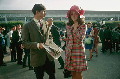 Photograph - Dublin Horse Show by Slim Aarons