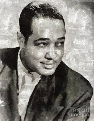Music Paintings - Duke Ellington, Music Legend by Esoterica Art Agency