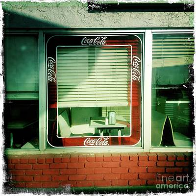 Photograph - Dunnigan Cafe by Suzanne Lorenz