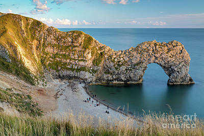 Photograph - Durdle Door Evening by Brian Jannsen