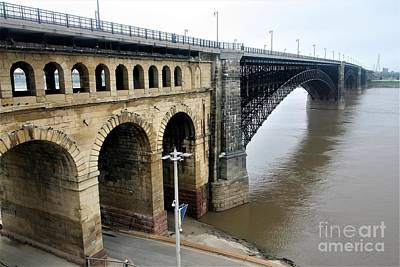 Sean Rights Managed Images - Eads Bridge St Louis Mo. Royalty-Free Image by Roger Look