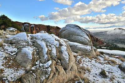 Photograph - East Entrance Of Colorado National Monument by Ray Mathis