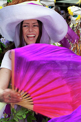 Royalty-Free and Rights-Managed Images - Easter Parade 4_21_2019 NYC Female Dancer by Robert Ullmann