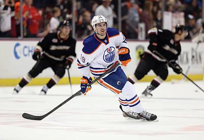 Photograph - Edmonton Oilers V Anaheim Ducks by Jeff Gross