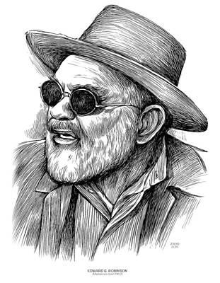 Drawing - Edward G Robinson by Greg Joens