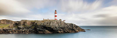 Photograph - Eilean Glas Lighthouse - Western Isles by Grant Glendinning