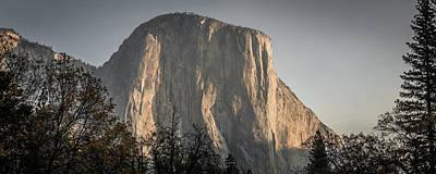 Photograph - El Captain Rock In Yosemite National Park,california by Alex Grichenko