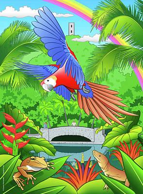 Thomas Kinkade Royalty Free Images - El Yunque Rain Forest  Royalty-Free Image by Erasmo Hernandez