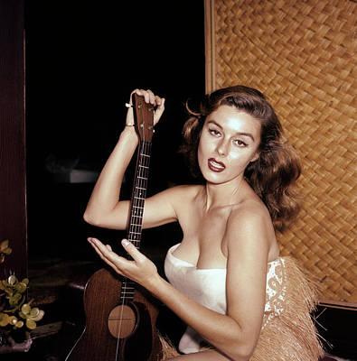Photograph - Elaine Stewart by Michael Ochs Archives
