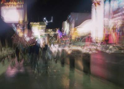 Photograph - Electric Night by Alex Lapidus