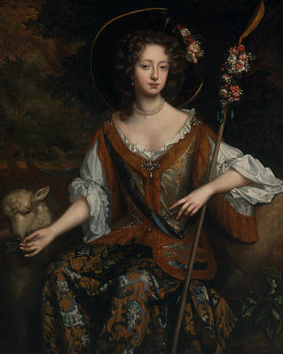 Painting - Elizabeth Jones, Countess Of Kildare by Willem Wissing
