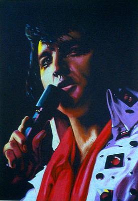 Drawing - Elvis by Robert Korhonen