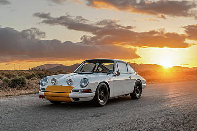 Photograph - Emory Porsche 911k by Drew Phillips