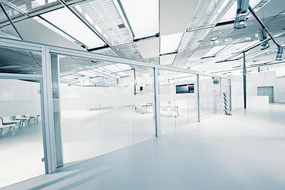 Photograph - Empty Modern Office by Ppampicture