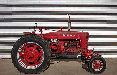 Photograph - Farmall M And Steel by Todd Klassy
