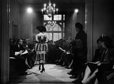Photograph - Fashion Show by Kurt Hutton