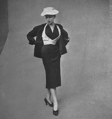 Photograph - Fashions Suits by Gordon Parks