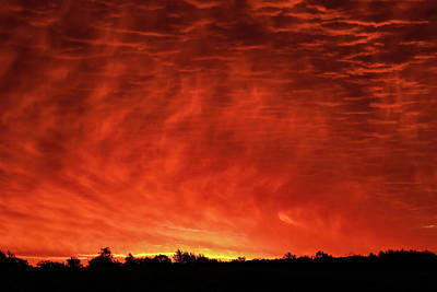 Photograph - Fire In The Sky by Dan Sproul
