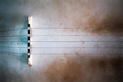 Abstract Stripe Patterns - Five String Banjo by Scott Norris