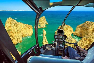 Photograph - flight on Ponta da Piedade by Benny Marty
