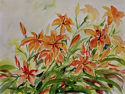 Painting - Floral by Ingrid Dohm