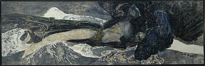 Painting - Flying Demon  by Mikhail Vrubel