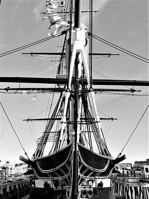 Photograph - Forcastle Of Old Ironsides by Rob Hans