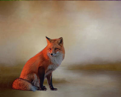 Photograph - Foxy by Cathy Kovarik