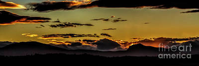 Photograph - Front Range Sunset by Jon Burch Photography