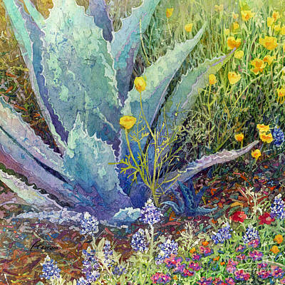 Seascapes Larry Marshall - Gardeners Delight by Hailey E Herrera