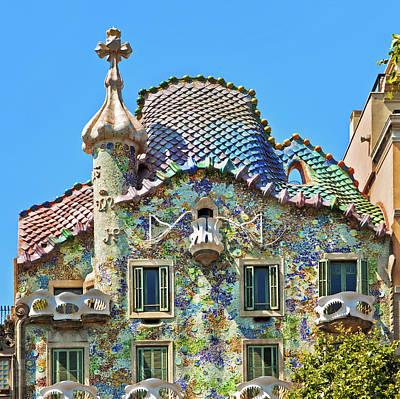 Photograph - Gaudis Casa Batllo In Barcelona by Nikada