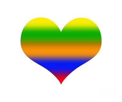 Mixed Media - Gay Pride by Ed Taylor