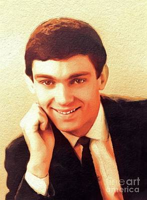 Music Paintings - Gene Pitney, Music Legend by Esoterica Art Agency