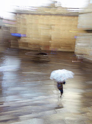 Art Print featuring the photograph Gentle Rain by Alex Lapidus