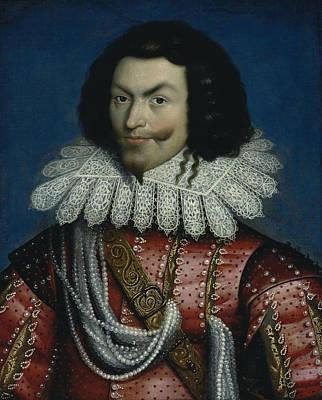 Painting - George Villiers, 1st Duke Of Buckingham by Paul van Somer