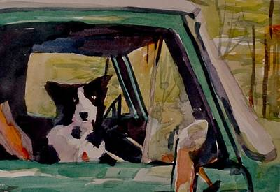 Painting - Go For A Ride  by Jo Mackenzie