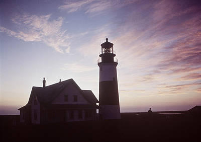 Photograph - Golden Sunset At Nantucket, Mass With by Andreas Feininger