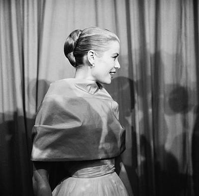 Photograph - Grace Kelly by Michael Ochs Archives