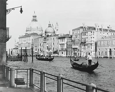 Photograph - Grand Canal  Venice  Italy by Superstock