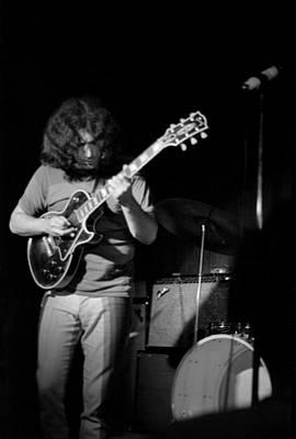 Photograph - Grateful Dead At The Cafe Au Go Go by Michael Ochs Archives