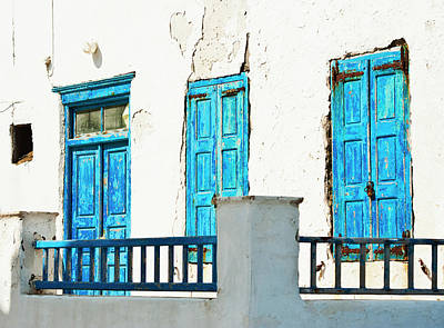 Mykonos Photograph - Greece, Cyclades Islands, Mykonos, Old by Tetra Images