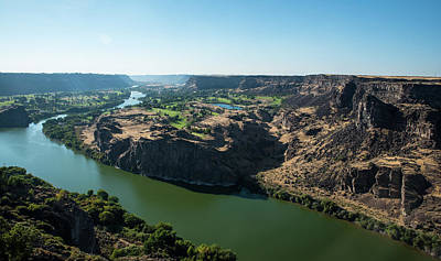 Photograph - Green Snake River by Tom Cochran