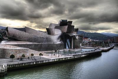 Photograph - Guggenheim Museum Bilbao by Gustavo's Photos