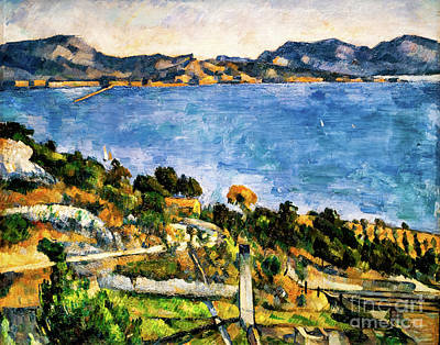 Painting - Gulf Of Marseille by Paul Cezanne