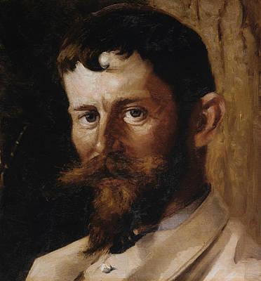 Painting - Gustav Wied by Valdemar Schonheyder Moller