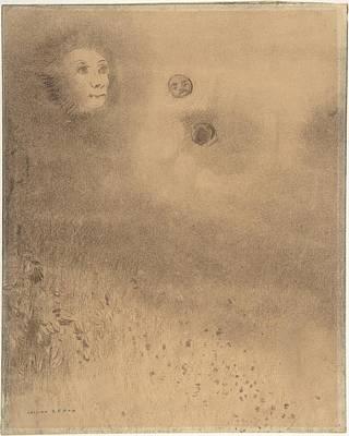 Hallucination Painting - Hallucinations by Odilon Redon